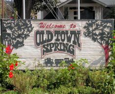 Discover Old Town Spring in Spring Texas LOVE this place. Old Town Spring, TX between The Woodlands and Houston Old Town Spring, Spring Texas, Texas Two Step, The Woodlands Texas, Free Things To Do, Fun Things, Texas Travel, Stars At Night, Down South