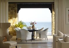 This amazing home in Los Cabos Mexico has interiors that rival the beauty of their natural surroundings.