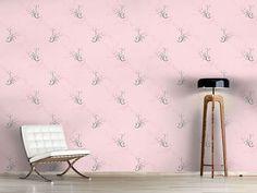 Design #Tapete Blumenzauber In Rosa