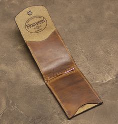 Brown Horween Dublin Leather Cabrio by NormCahnLeatherworks