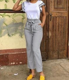 10 Practical Women's Clothes That Is Always Trending Un atuendo que se ve genial Casual Summer Outfits, Classy Outfits, Chic Outfits, Casual Dresses For Women, Clothes For Women, Girly Outfits, Pretty Outfits, Beautiful Outfits, Modest Fashion