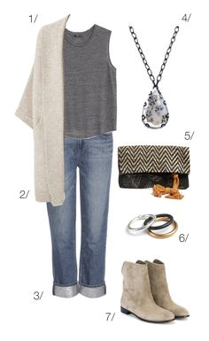 casual fall style: jeans, boots, and a cardigan // click through for outfit details