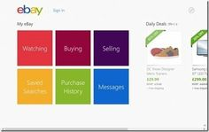 #MobileDesign : Designing UX for Shopping Apps – Windows 8