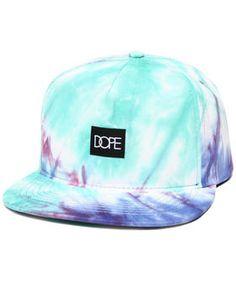 Tie-dye Snapback by DOPE @ DrJays.com