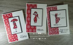 I've seen a few beautiful cards around made with the Paper Piecing technique and the Beautiful You stamp set, and I just had to try it f...