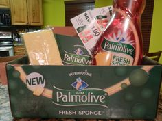 Palmolive fresh sponge from colgate & Influenter