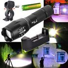 Mini 10000LM LED Flashlight Torch Rechargeable CREE XML T6BatteryCharger Clip