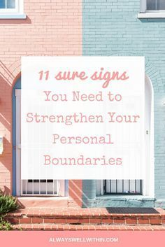 Do you need better personal boundaries? Setting Boundaries | Healthy Boundaries #establishingboundaries #boundriesinrelationships #boundaries #personalboundaries