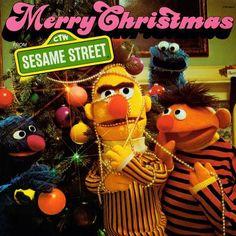 """We offer Sesame Street Christmas music including """"Merry Christmas Sesame Street"""" in CD, and vinyl record album formats. Christmas Vinyl, Christmas Albums, Christmas Music, Vintage Christmas, Merry Christmas, Christmas Movies, Xmas, Childrens Christmas, Christmas Scenes"""