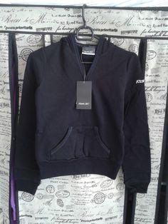 Reebok Women Skinny Style Sweatshirt Hooded Hoody Black Size S Women Fashion  | eBay