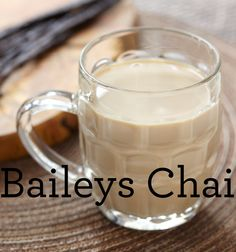 A twist on the classic chai latte, the @Baileys US Chai is a delicious treat for your friends and family. Mix up 2 oz. Baileys US® Caramel Irish Cream Liqueur, 0.5 oz. @Smirnoff US® Vanilla Flavored Vodka, 3 dashes of orange bitters, and top with chai tea. #bridalshower #chai #baileys #Smirnoff #cocktail #recipe