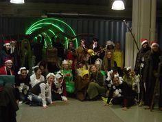 Christmas 2003 at Ketchum Germany (die legendäre lebende Krippe)