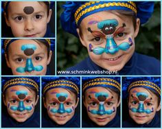 Saint Nicolas, Painting For Kids, Face Art, To My Daughter, December, Make Up, Colours, Seasons, Monsters