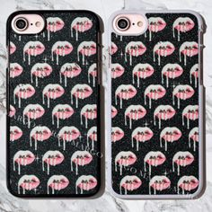 Real-Glitter-Kylie-Lip-Kit-Lips-Bling-Sparkle-Case-Cover-for-iPhone-Samsung-Sony
