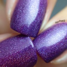 The Ministry Purple Holographic Nail Polish by StachedPolish