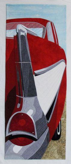 Fifties Flare by Valerie Wilson | Fibre Art Network
