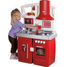 Little Tikes® 'Cook 'n' Grow' Kitchen - Sears Pretend Kitchen, Pretend Food, Toy Kitchen, Pretend Play, Role Play, Kitchen Appliances, Little Tikes, Toys For Boys, Kids Toys