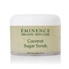 Eminence Organics Coconut Sugar Scrub buffs your skin to perfection with raw sugar cane granules and infuses potent virgin coconut oil to give deep hydration and nutrition. Coconut Oil For Skin, Organic Coconut Oil, Coconut Sugar, Organic Beauty, Organic Skin Care, Organic Formula, Eco Beauty, Skin Care Regimen, Skin Care Tips