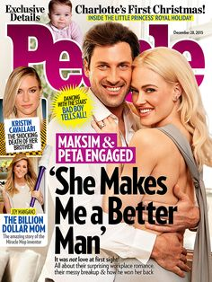 Breaking Up to Making Up: Maksim Chmerkovskiy and Peta Murgatroyd's Love Story – All About the Dancing with the Stars Duo's Surprise Engagement http://www.people.com/article/maksim-chmerkovskiy-peta-murgatroyd-engaged-story