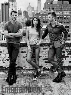 Felicity reunion 2015 - Scott Foley, Keri Russell and Scott Speedman