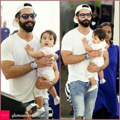 Shahid Kapoor and Misha