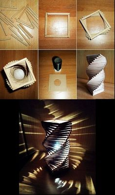 Lichtdesign – Famous Last Words Diy Crafts For Home Decor, Diy Crafts Hacks, Diy Crafts For Gifts, Diy Arts And Crafts, Art Diy, Diy Wall Art, Diy Wall Decor, Diy Fairy Door, Diy Popsicle Stick Crafts