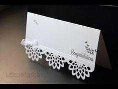 Tarjeta de felicitación para novios / Wedding greeting card