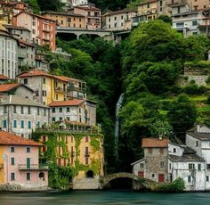 Nesso Italy Come Lake Oh The Places You'll Go, Places To Travel, Places To Visit, Venice Travel, Italy Travel, Nesso Italy, Comer See, Sorrento Italy, Naples Italy