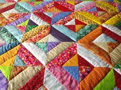 quilting, acolchado, patchwork Los Quilts de Merce: Otro quilt terminado