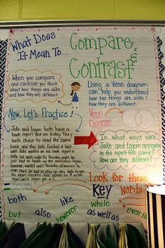 Life in First Grade: Compare and Contrast