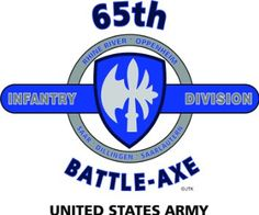 "Amazon.com: 65TH INFANTRY DIVISION ""BATTLE-AXE "" U.S. MILITARY CAMPAIGNS LAMINATED PRINT ON 18"" x 24"" QUARTER INCH THICK POSTER BOARD: Everything Else"