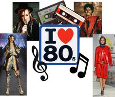 """""""Eighties Icons..."""" by kimearls on Polyvore"""