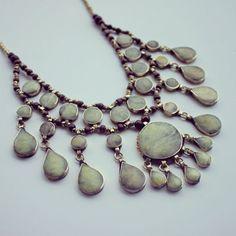 Badria Necklace Vintage Afghani Statement Necklace https://www.etsy.com/listing/156333325/badria-necklace-vintage-afghani?ref=shop_home_active