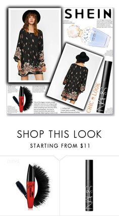 """""""Shein Contest"""" by gheto-life ❤ liked on Polyvore featuring Marc Jacobs and NARS Cosmetics"""