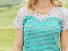 Pattern Blocked Top: Sewing the Trends - Sew Much Ado