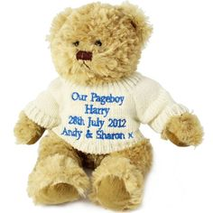 Personalised Tatty Teddy Message Bear - Blue :: Personalise with your special message :: Fast UK Despatch. New Baby Gifts, Gifts For Boys, Boy Gifts, Tatty Teddy, Teddy Bear, Communion Gifts, Confirmation Gifts, Baby First Birthday, Christening Gifts