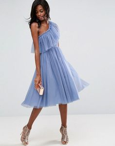 Discover the latest dresses on sale for women at ASOS. Shop the latest collection of long and short dresses in a variety of colors. Order now at ASOS. Blue Tulle Skirt, Tulle Dress, Tulle Skirts, Cute Dresses, Casual Dresses, Short Dresses, Maxi Dresses, Party Dresses, Dress Outfits