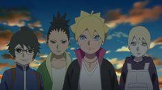 Denki, Shikadai, Boruto and Inojin || Boruto: Naruto Next Generations