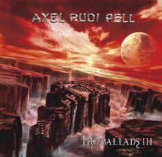 """L'album dei #AxelRudiPell intitolato """"The Ballads III""""."""
