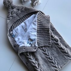 Knit Baby Cocoon, Newborn Sleeping Bag, Swaddle Blanket, Knitted Sleep Sack F… – Knitting Baby İdeas. Swaddle Blanket, Baby Blanket Crochet, Baby Blankets, Baby Swaddle, Baby Girl Gifts, Cute Baby Girl, Newborn Sleeping Bag, Baby Sack, Knitted Booties