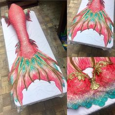 """MerNation, Inc. Custom Tails on Instagram: """"A coral goddess tail for the beautiful @_mermaidcoralee #mermaid #mernation #mermaids #mermaidtail #siliconetail #silicone #princess"""" Realistic Mermaid Tails, Diy Mermaid Tail, Mermaid Tails For Kids, Silicone Mermaid Tails, Mermaid Fin, Mermaid Tale, Mermaid Princess, The Little Mermaid, Tattoo Mermaid"""
