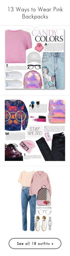 """13 Ways to Wear Pink Backpacks"" by polyvore-editorial ❤ liked on Polyvore featuring waystowear, pinkbackpacks, Topshop, Miss Selfridge, adidas, Bobbi Brown Cosmetics, Vanessa Bruno Athé, Demonia, Joomi Lim and Alexander Wang"