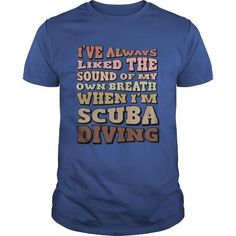 Awesome Diving Lovers Tee Shirts Gift for you or your family member and your friend:  The sound of my breath Tee Shirts T-Shirts
