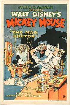 Mickey Mouse: El doctor loco (1933) - FilmAffinity