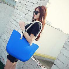 2016 mais recente multiuso mulheres fashional crossbody sacos zipper à prova d ' água silicone o bolsa de praia bolsa com grande capacidade em Top sacos alça de Bagagem & Bags no AliExpress.com   Alibaba Group