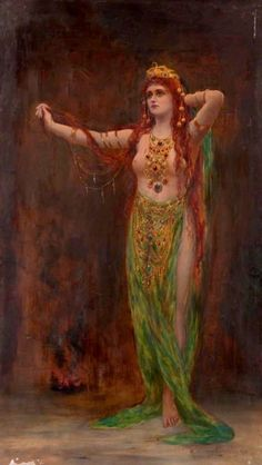 Circe Resplendens - Margaret Murray Cookesley