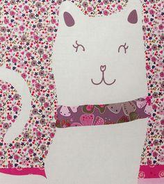 Taie d'oreiller ou de traversin #chat Catsychic Collection printemps été 2014 - www.vertbaudet.fr