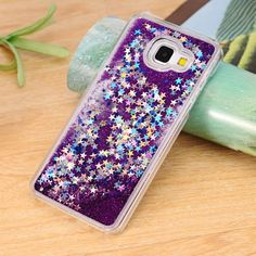 Dynamic Liquid Bling Star Quicksand capa Fundas Case for Samsung Galaxy A3 A5 A7 2016 J5 J7 Grand Prime S4/S5/S6/S6 Edge/S7 Edge