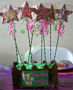 tink... fairy wand cookies