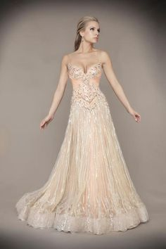 Style: #78713D BLUSH (Front)